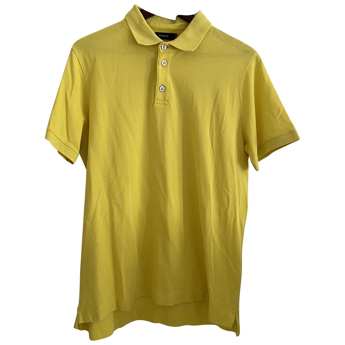 Jil Sander \N Poloshirts in  Gelb Baumwolle