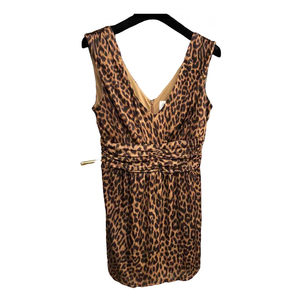 Lucy In Disguise \N Kleid in  Braun Viskose