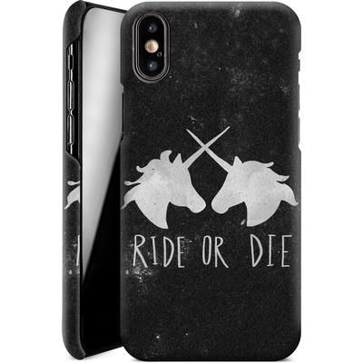 Apple iPhone X Smartphone Huelle - Ride or Die von Leah Flores