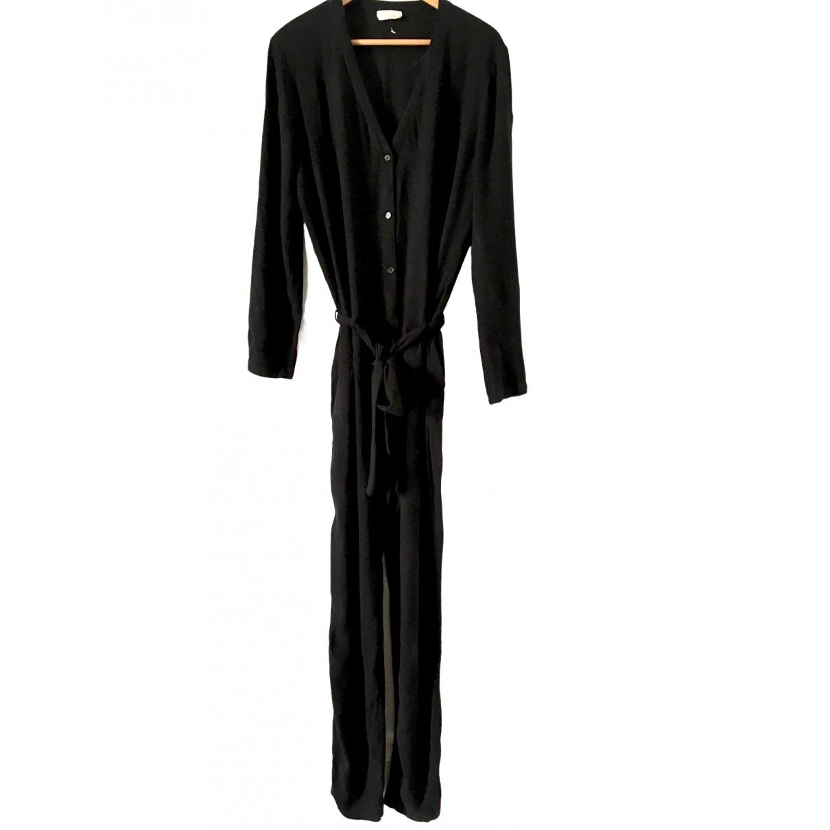 American Vintage \N Jumpsuit in  Schwarz Viskose