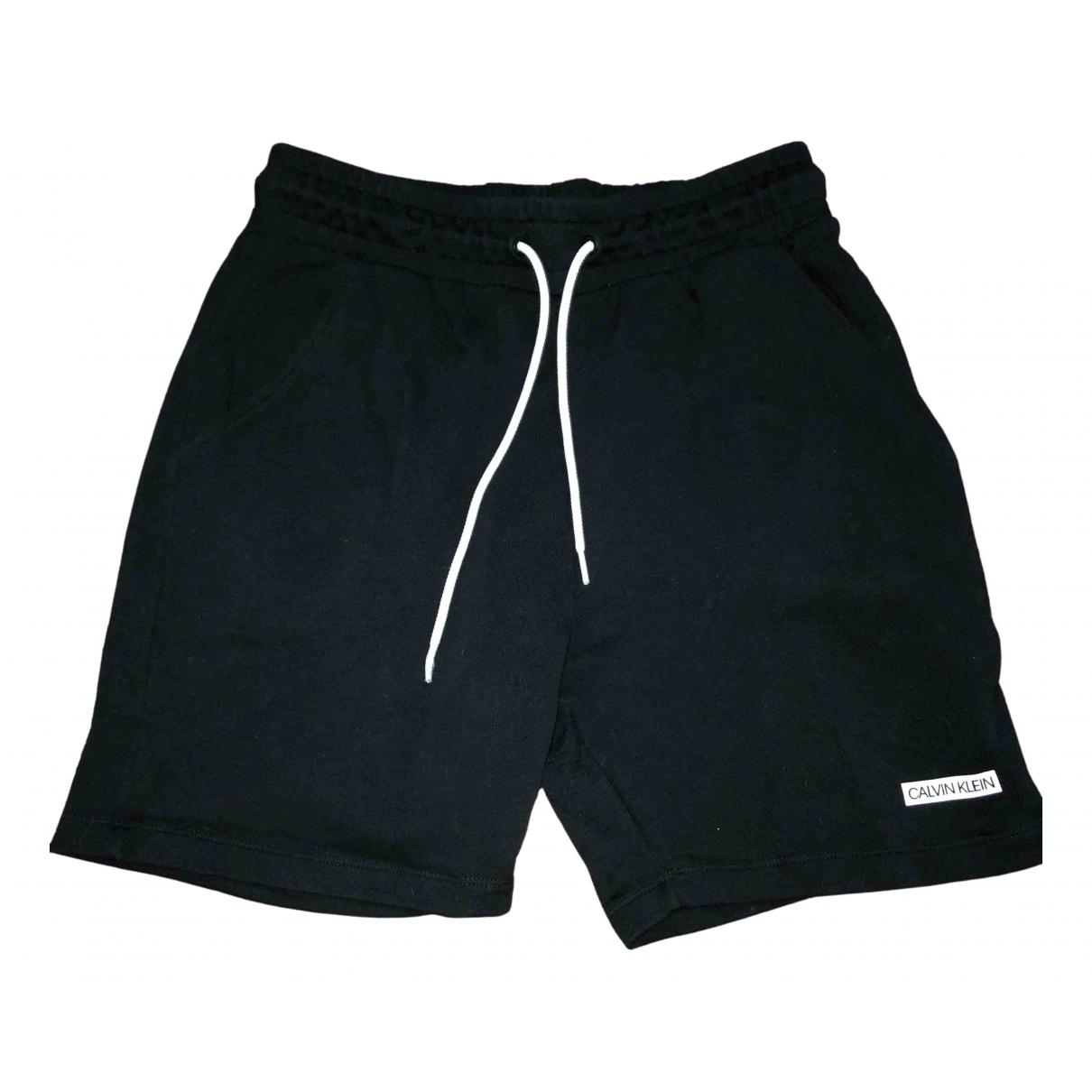Calvin Klein - Short   pour enfant en coton - noir