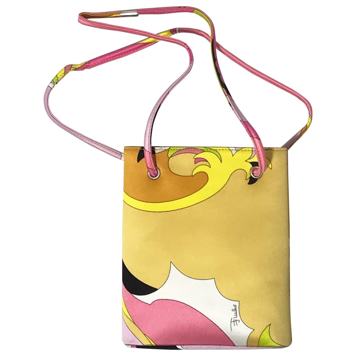 Emilio Pucci - Sac a main   pour femme en soie - multicolore