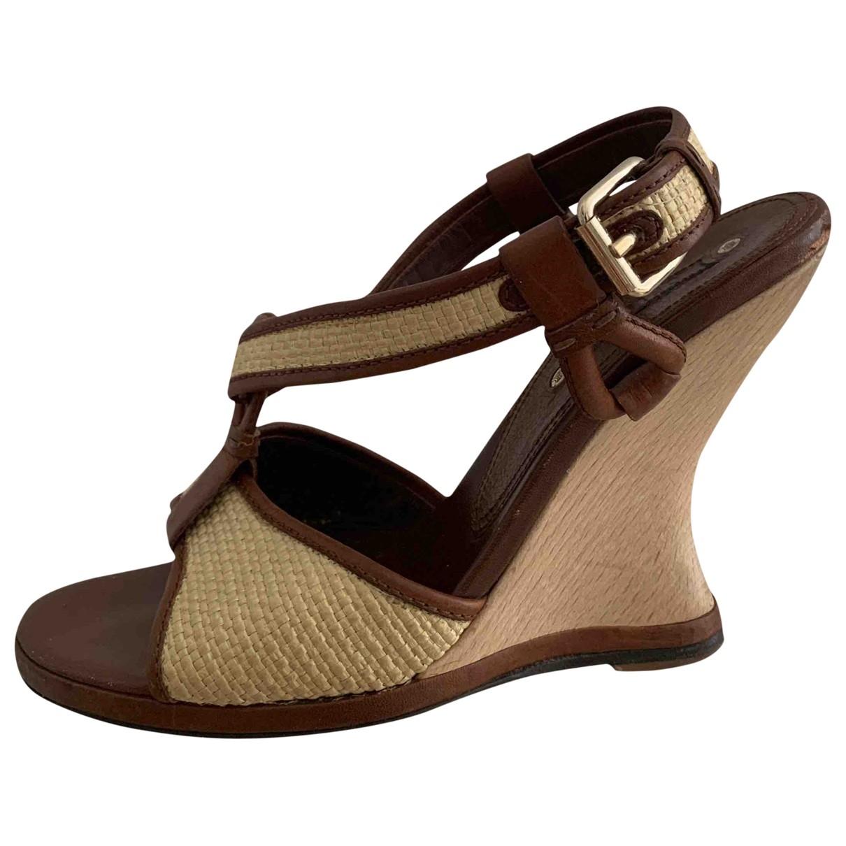 Celine - Sandales   pour femme en cuir