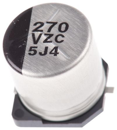 Panasonic 270μF Hybrid Capacitor 35V dc, Surface Mount - EEHZC1V271P