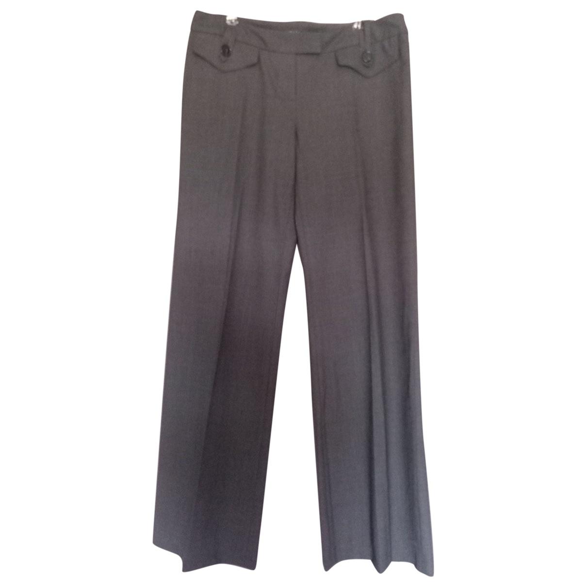 Pantalon recto de Lana Barbara Bui