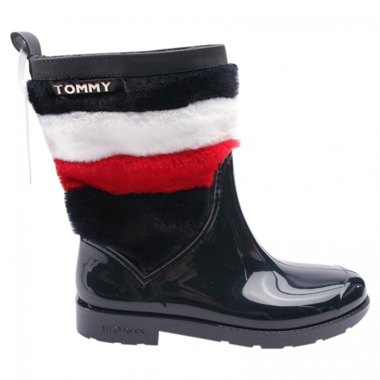Tommy Hilfiger \N Blue Leather Boots for Women 37 EU