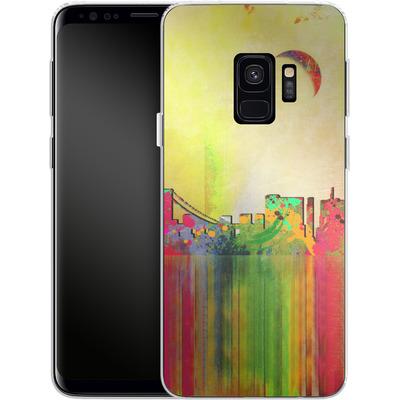 Samsung Galaxy S9 Silikon Handyhuelle - San Francisco Skyline von Mark Ashkenazi