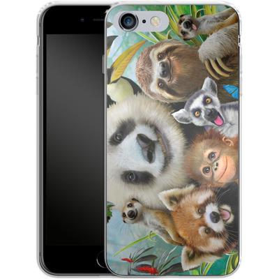 Apple iPhone 6s Plus Silikon Handyhuelle - Zoo Selfie von Howard Robinson