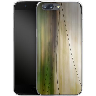OnePlus 5 Silikon Handyhuelle - Breathe von Joy StClaire