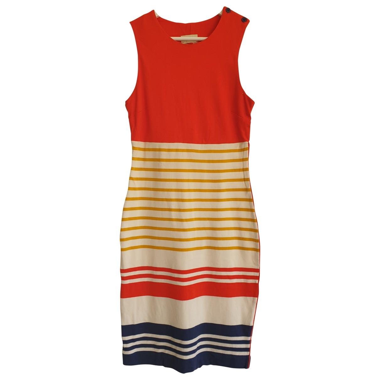 By Malene Birger \N Kleid in  Rot Baumwolle