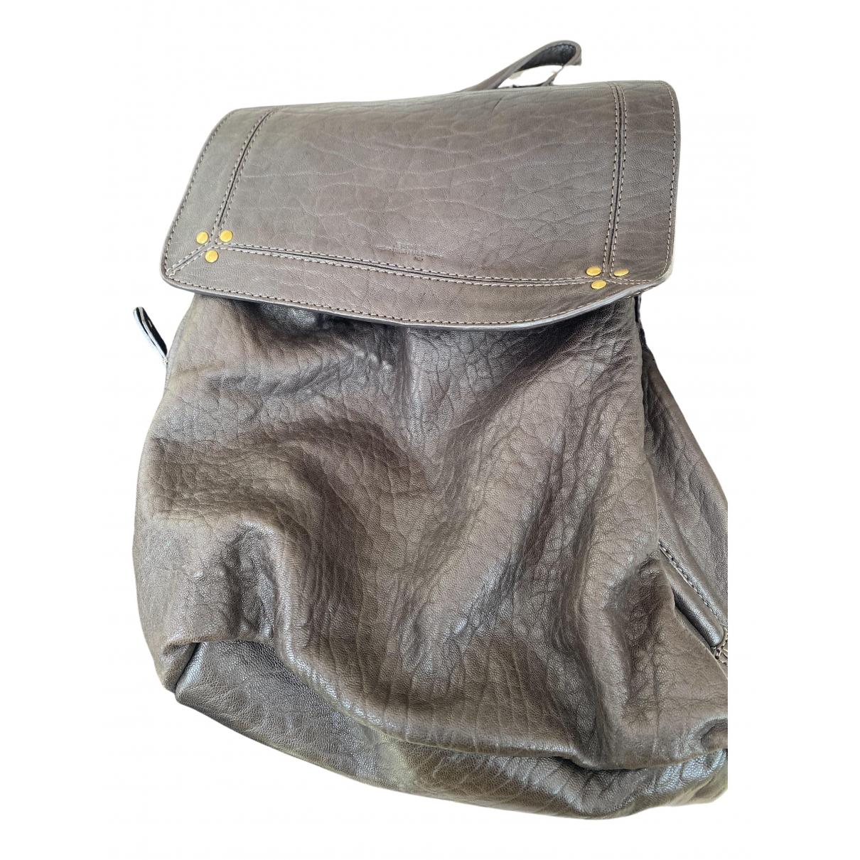 Jerome Dreyfuss \N Handtasche in  Braun Leder
