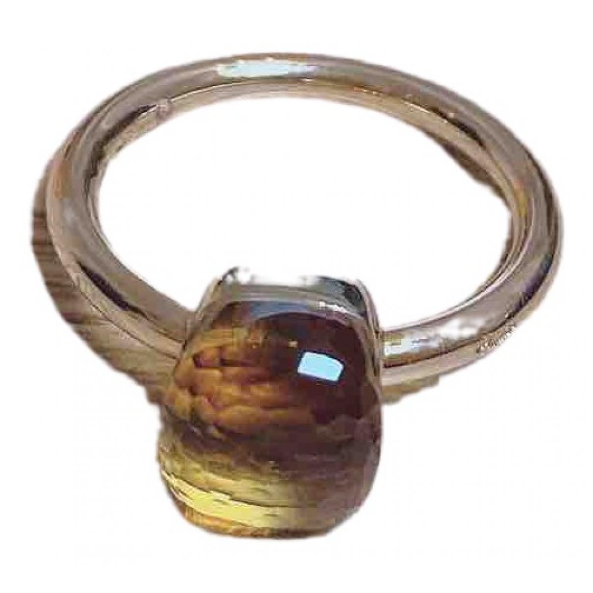 Pomellato - Bague Nudo pour femme en or rose - argente