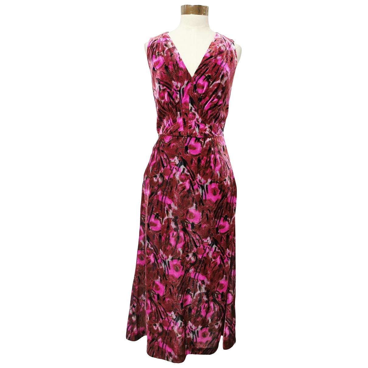 Prada \N Kleid in  Rosa Samt