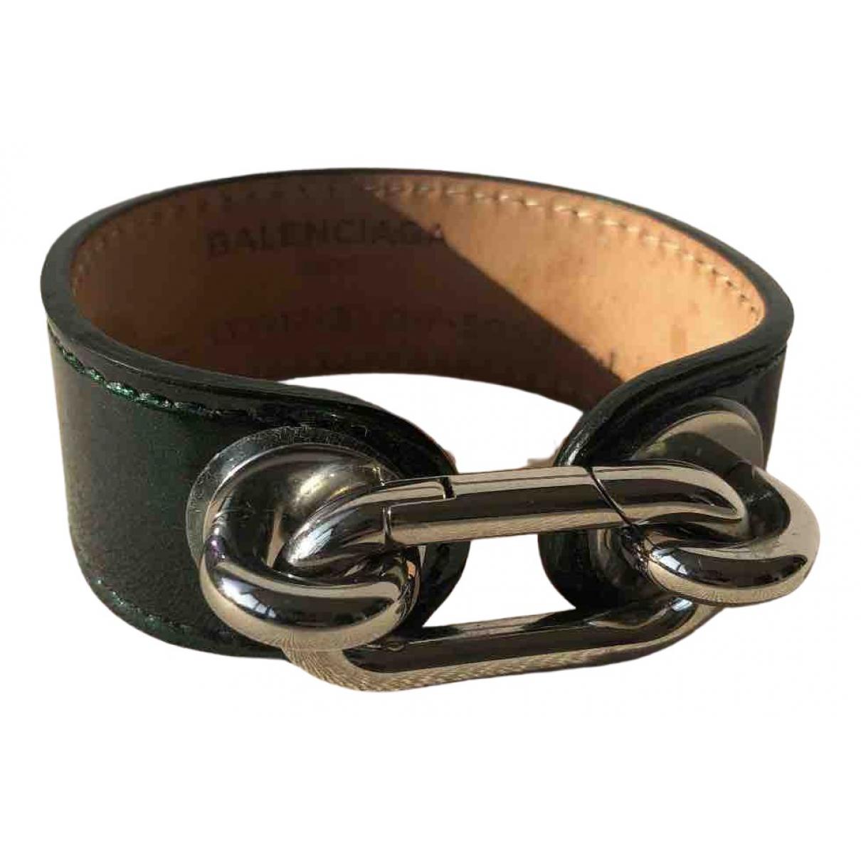Balenciaga - Bracelet   pour femme en cuir