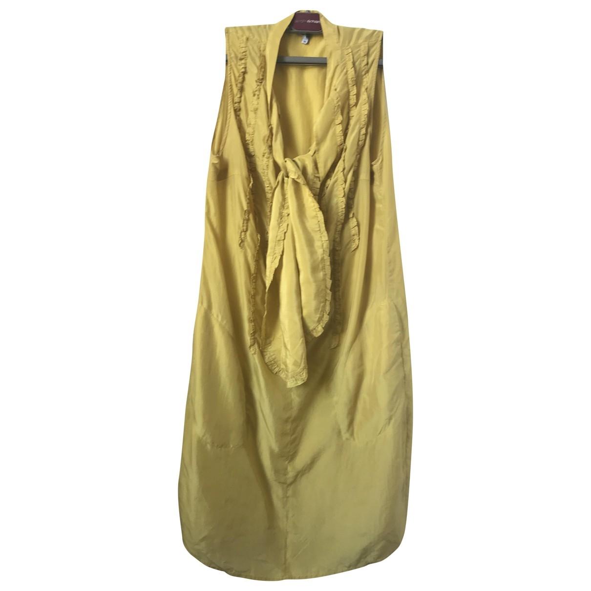 Paul Smith \N Kleid in  Gelb Seide