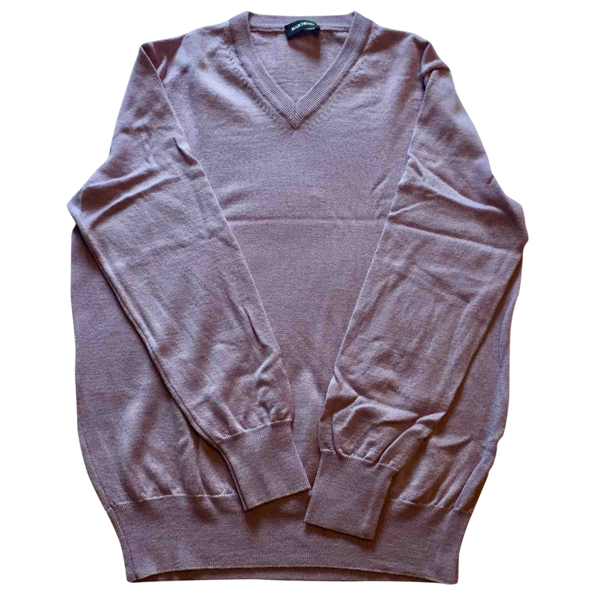 Non Signe / Unsigned \N Pullover.Westen.Sweatshirts  in  Lila Wolle
