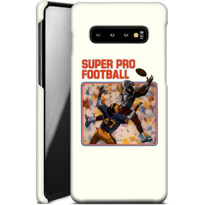 Samsung Galaxy S10 Plus Smartphone Huelle - Super Pro Football von Intellivision®