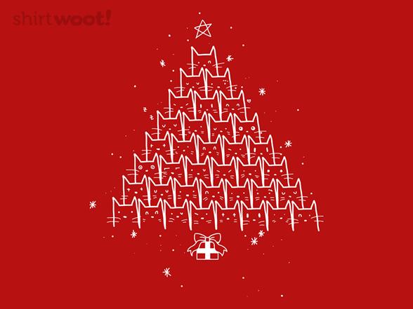 Catmas Tree T Shirt