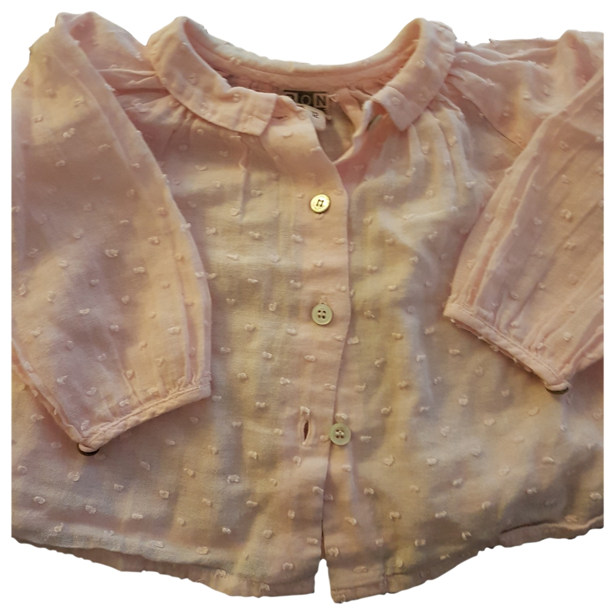 Bonton \N Pink Cotton  top for Kids 12 months - up to 74cm FR