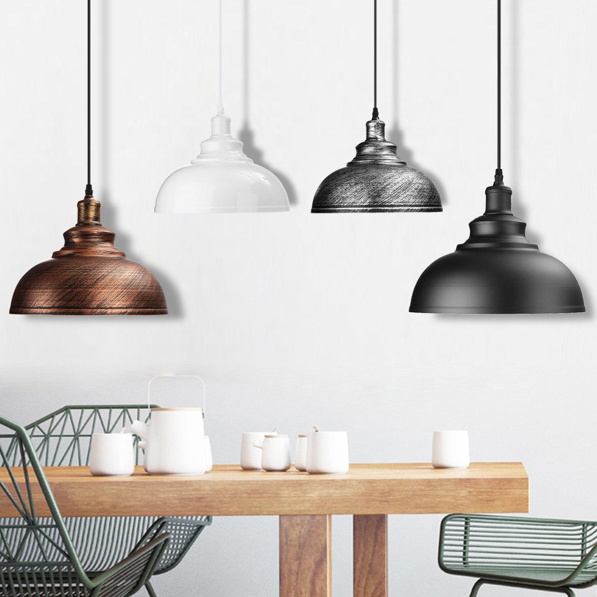 Vintage Ceiling Light Retro Pendant Lamp Industrial Loft Iron Chandelier Fixture