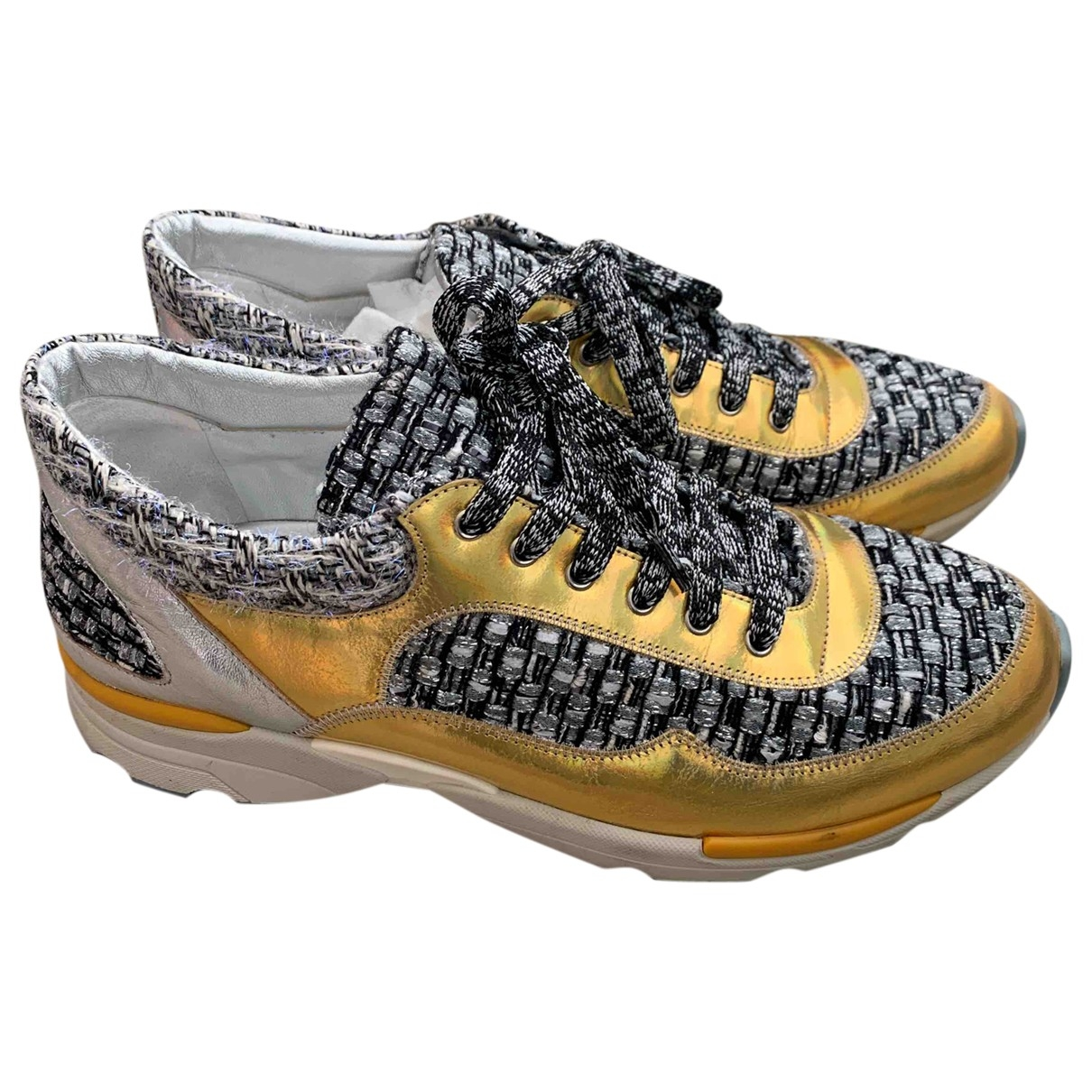 Chanel \N Multicolour Tweed Trainers for Women 39 EU