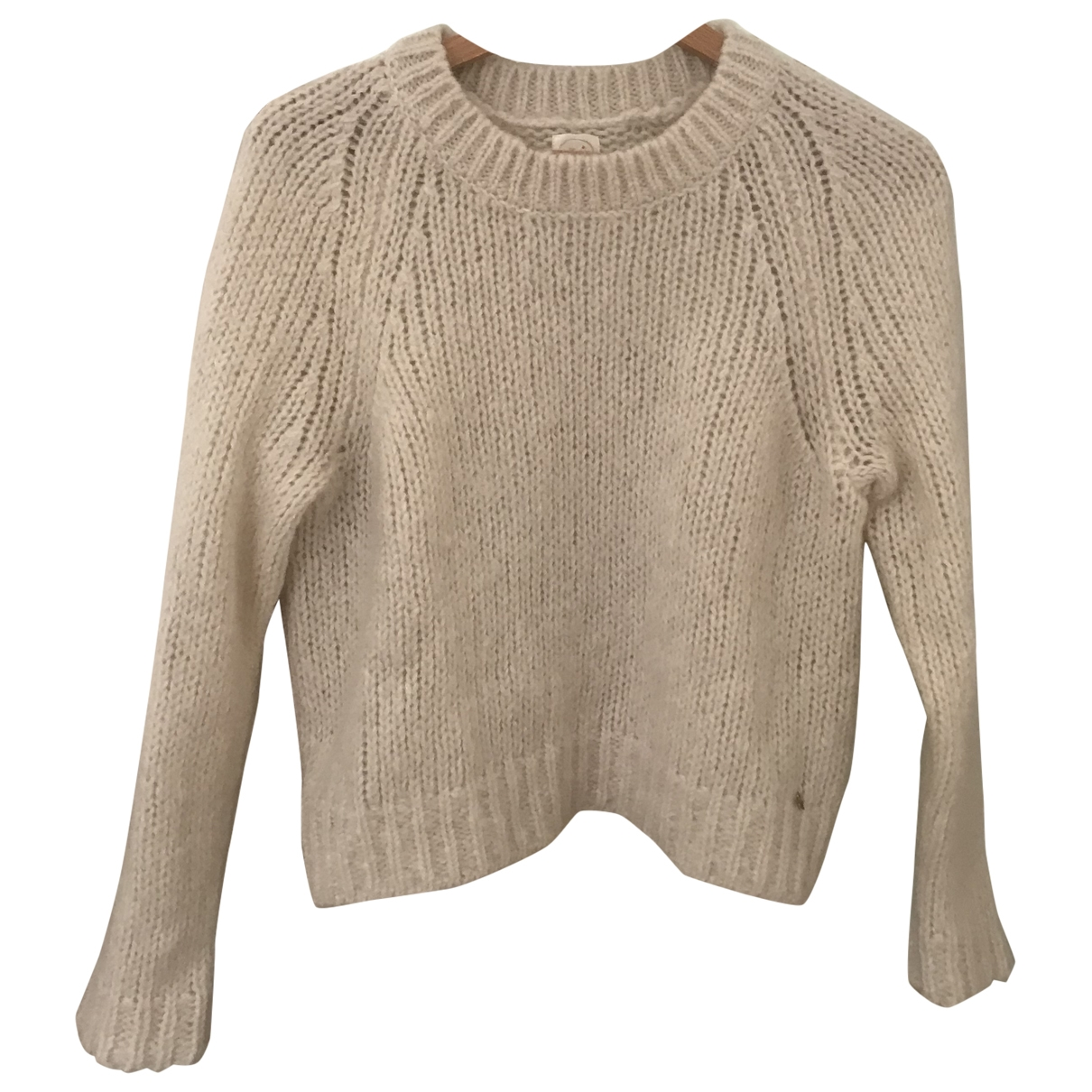 Des Petits Hauts \N Pullover in  Weiss Wolle