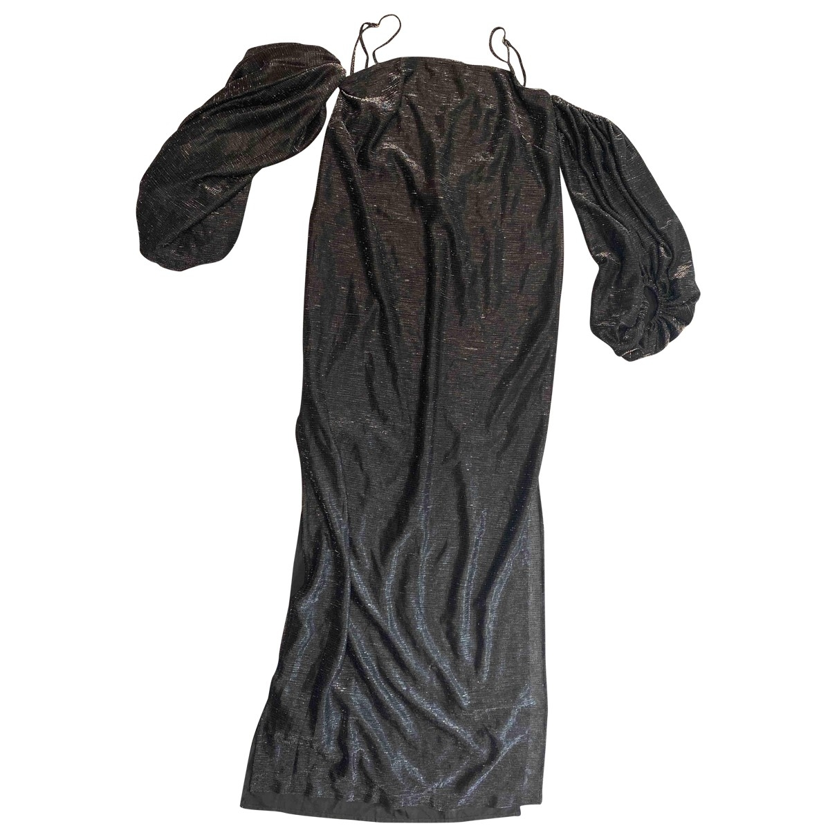 Shona Joy \N Kleid in  Metallic Polyester