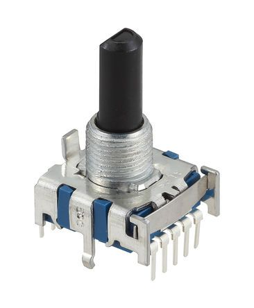 Alps Alpine , 7 Position SP7T Rotary Switch, 300 mA, PC Pin