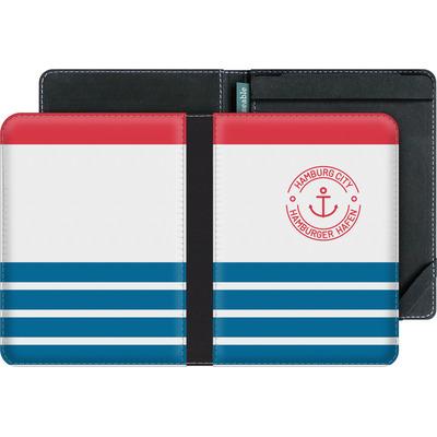 tolino vision 4 HD eBook Reader Huelle - Hamburger Hafen von caseable Designs