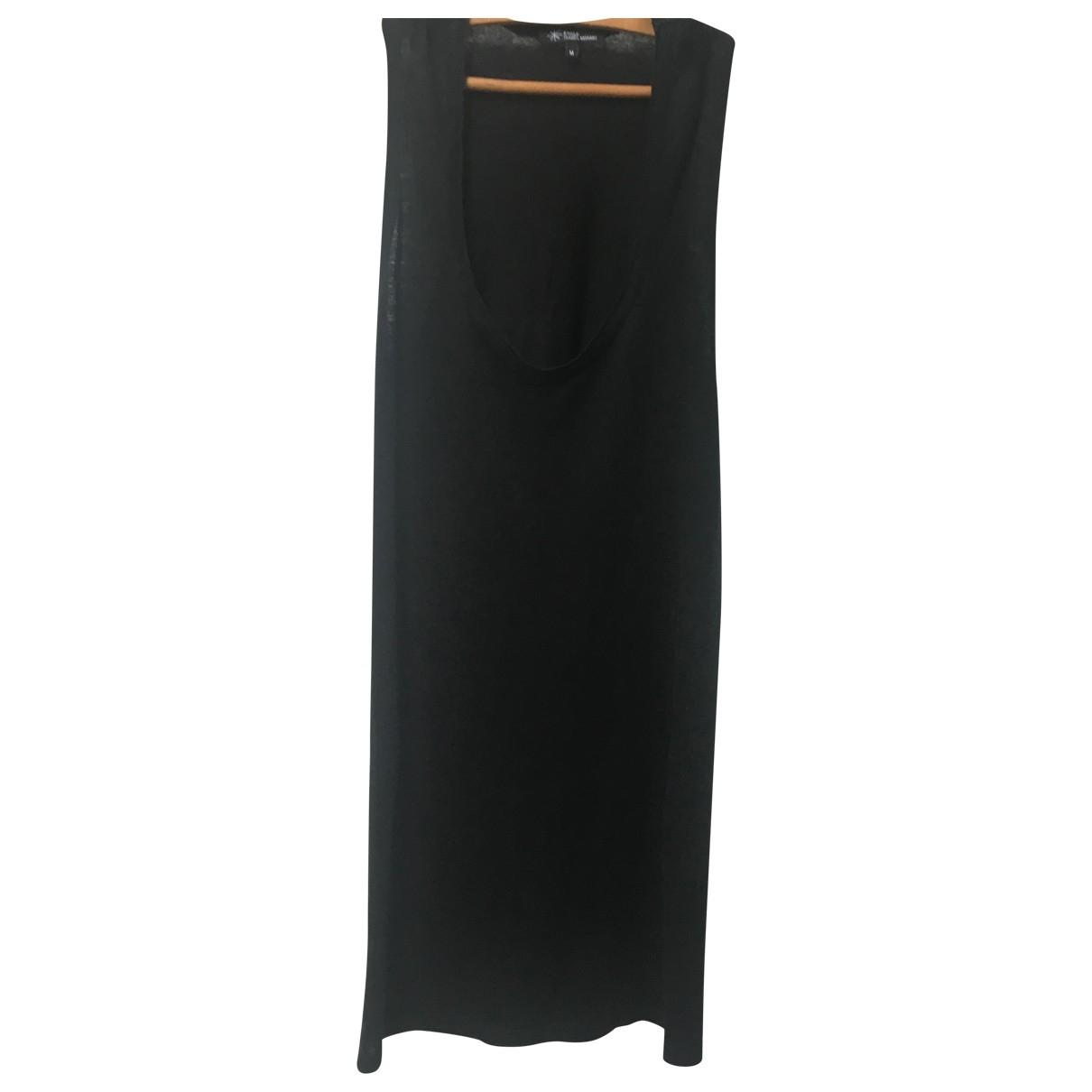 Isabel Marant Etoile \N Black Linen dress for Women M International