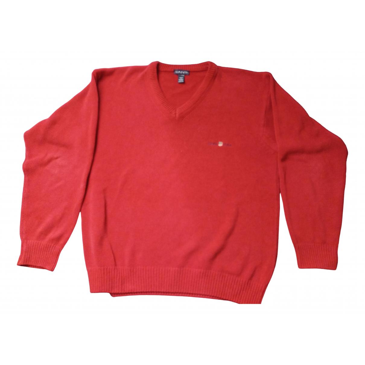 Gant \N Pullover.Westen.Sweatshirts  in  Rot Baumwolle