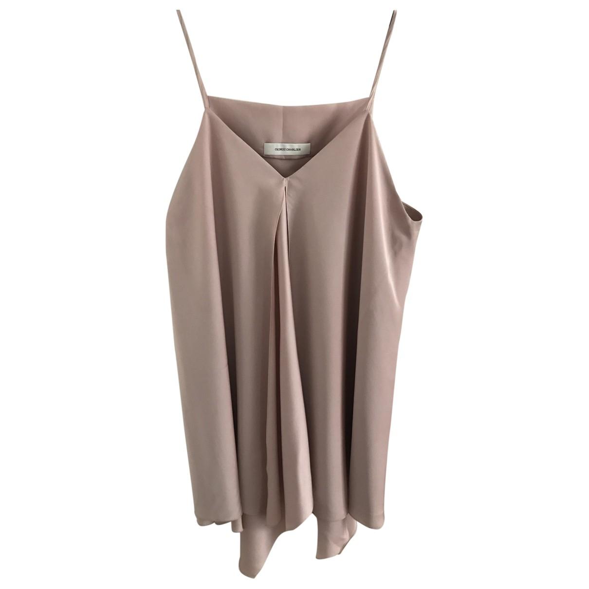 Cédric Charlier \N Pink dress for Women 36 FR