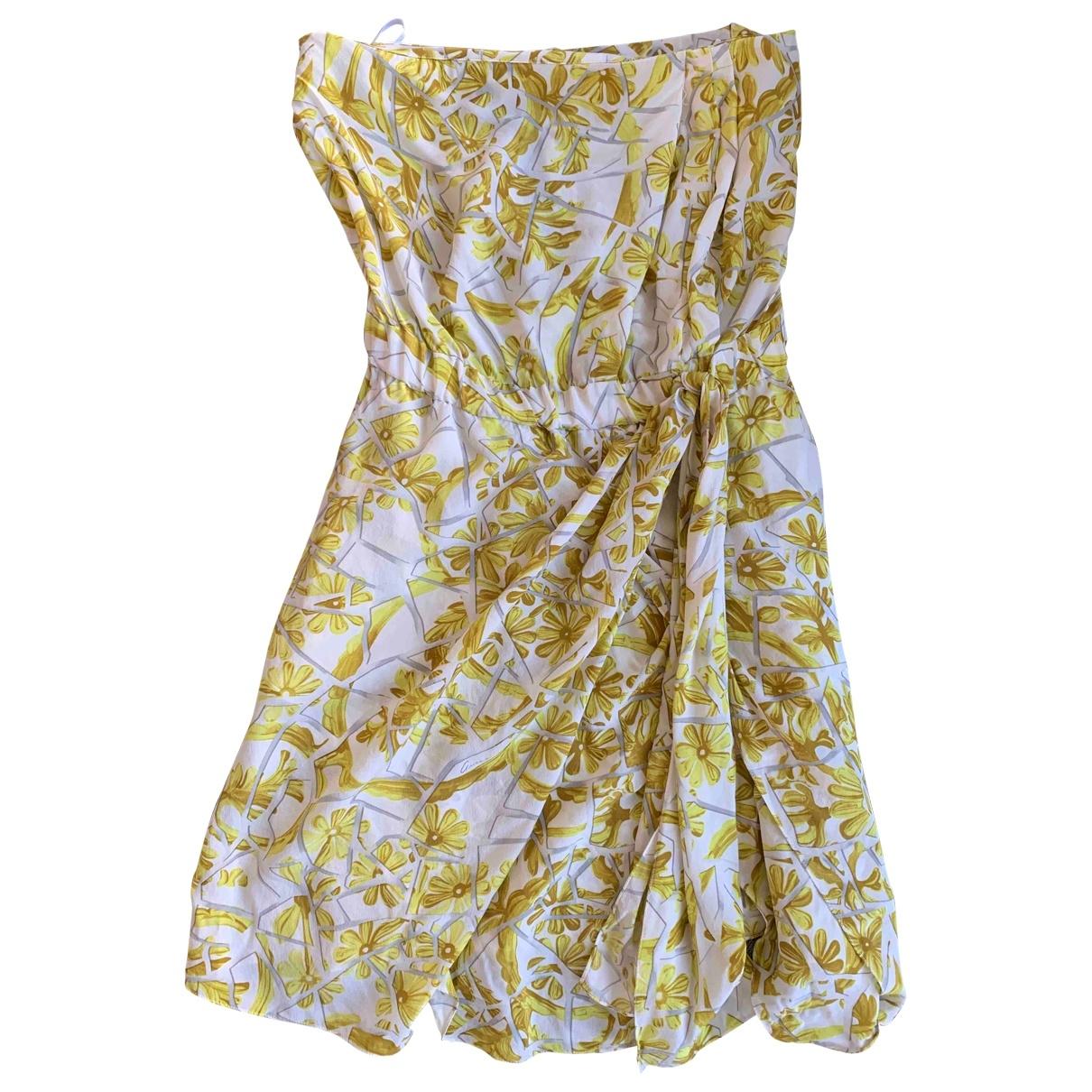 Vestido midi de Seda Gucci