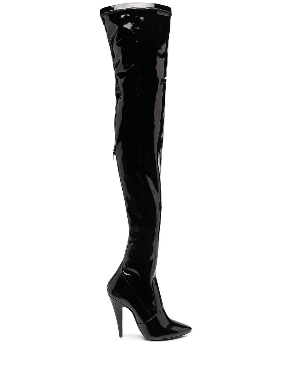 Aylah Patent Over-the-knee Boots