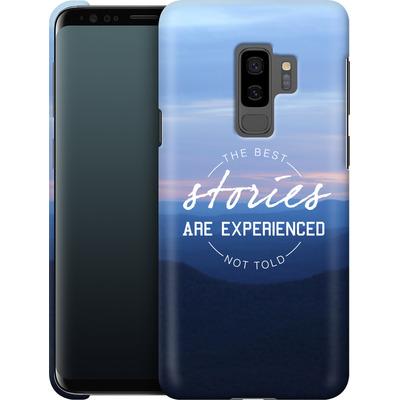 Samsung Galaxy S9 Plus Smartphone Huelle - Stories von Statements