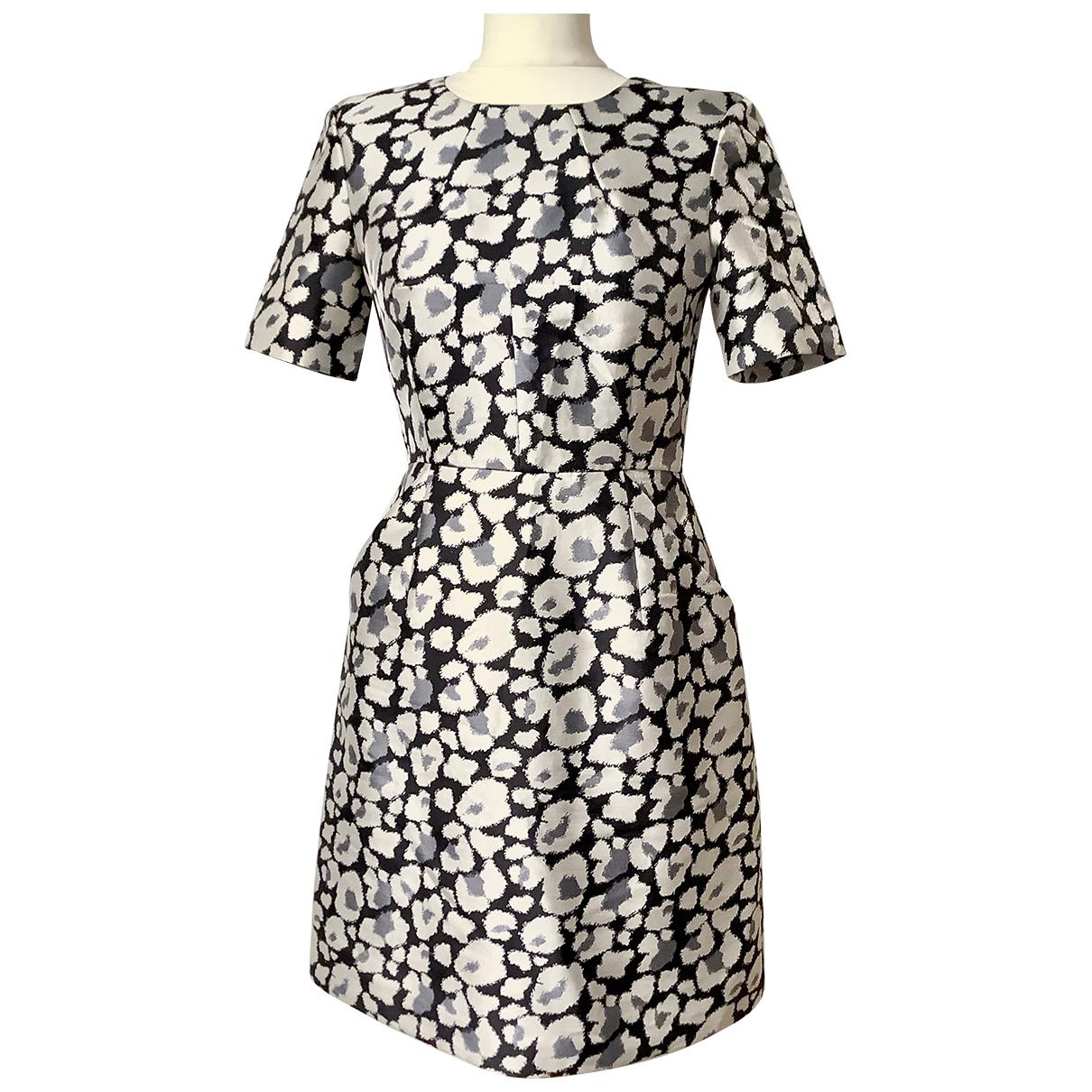 Whistles - Robe   pour femme en laine - argente