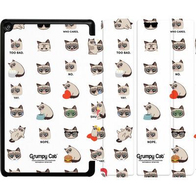 Amazon Fire HD 8 (2018) Tablet Smart Case - Grumpy Cat Pattern von Grumpy Cat