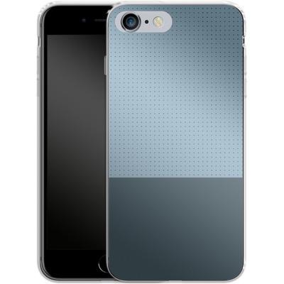 Apple iPhone 6 Plus Silikon Handyhuelle - Dot Grid Blue von caseable Designs