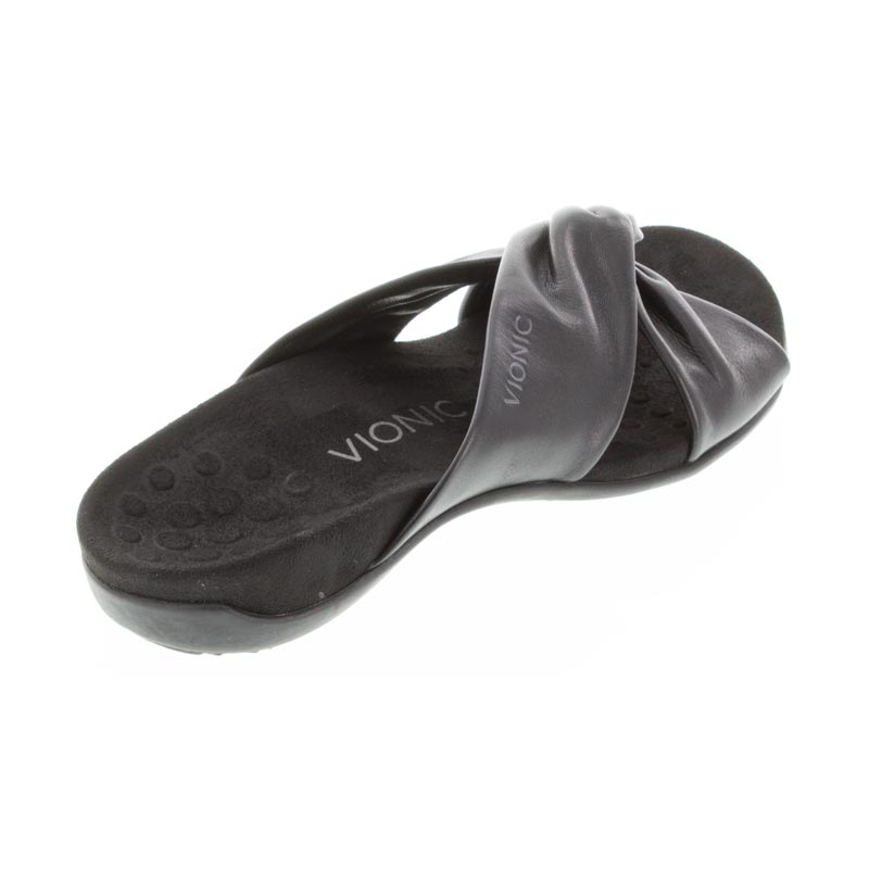 Vionic Shelley Black Leather 9 M