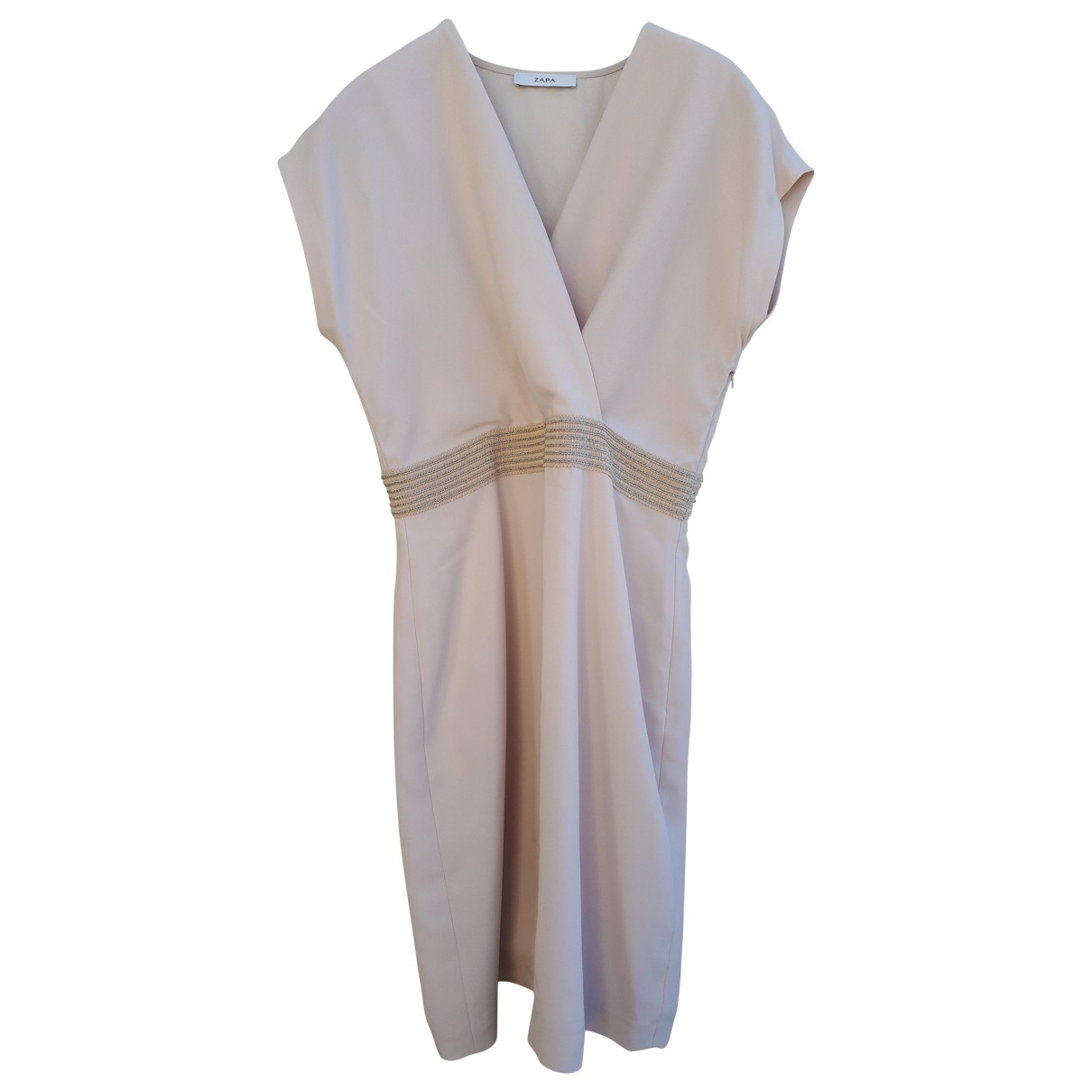 Zapa \N Kleid in  Rosa Polyester