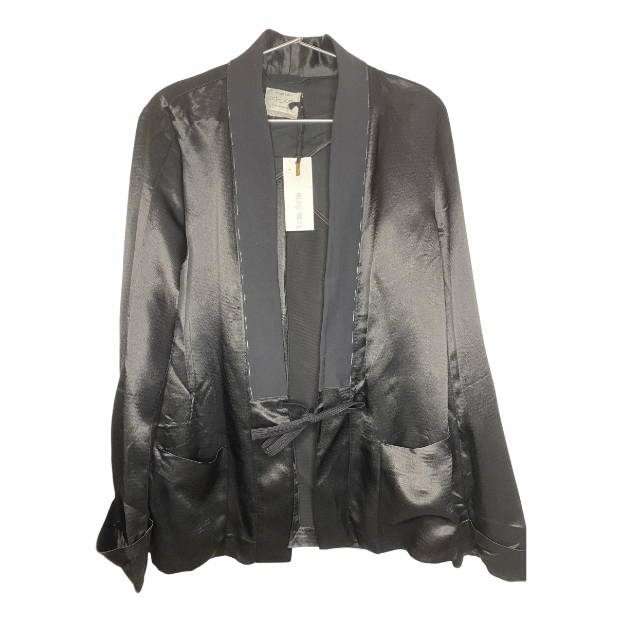 Forte_forte N Black jacket for Women L International
