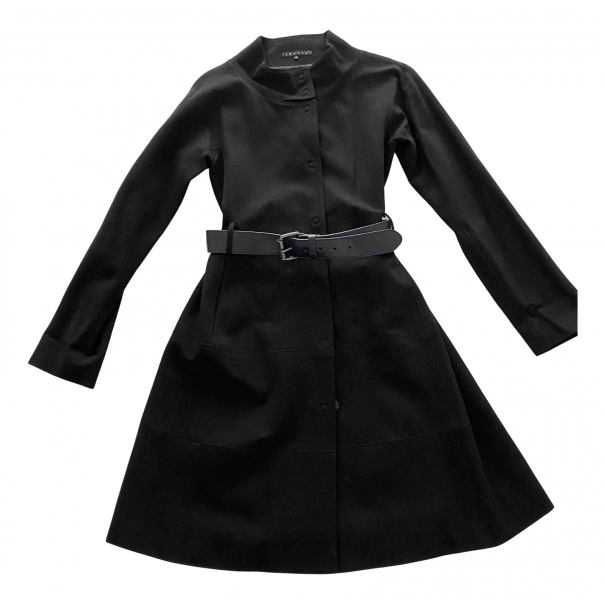 Theory - Manteau   pour femme - noir