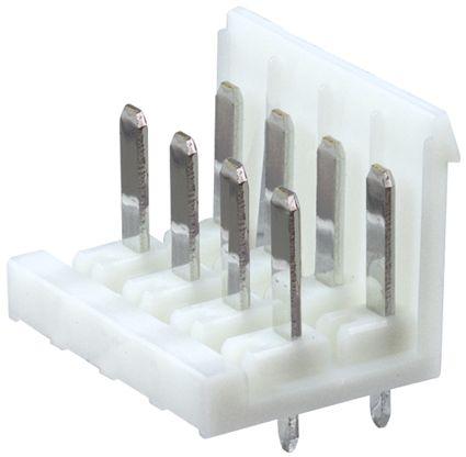 JST , XL, 8 Way, 2 Row, Straight PCB Header (10)