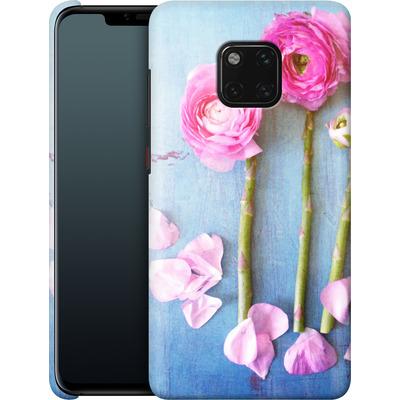 Huawei Mate 20 Pro Smartphone Huelle - Cottage Flowers von Joy StClaire