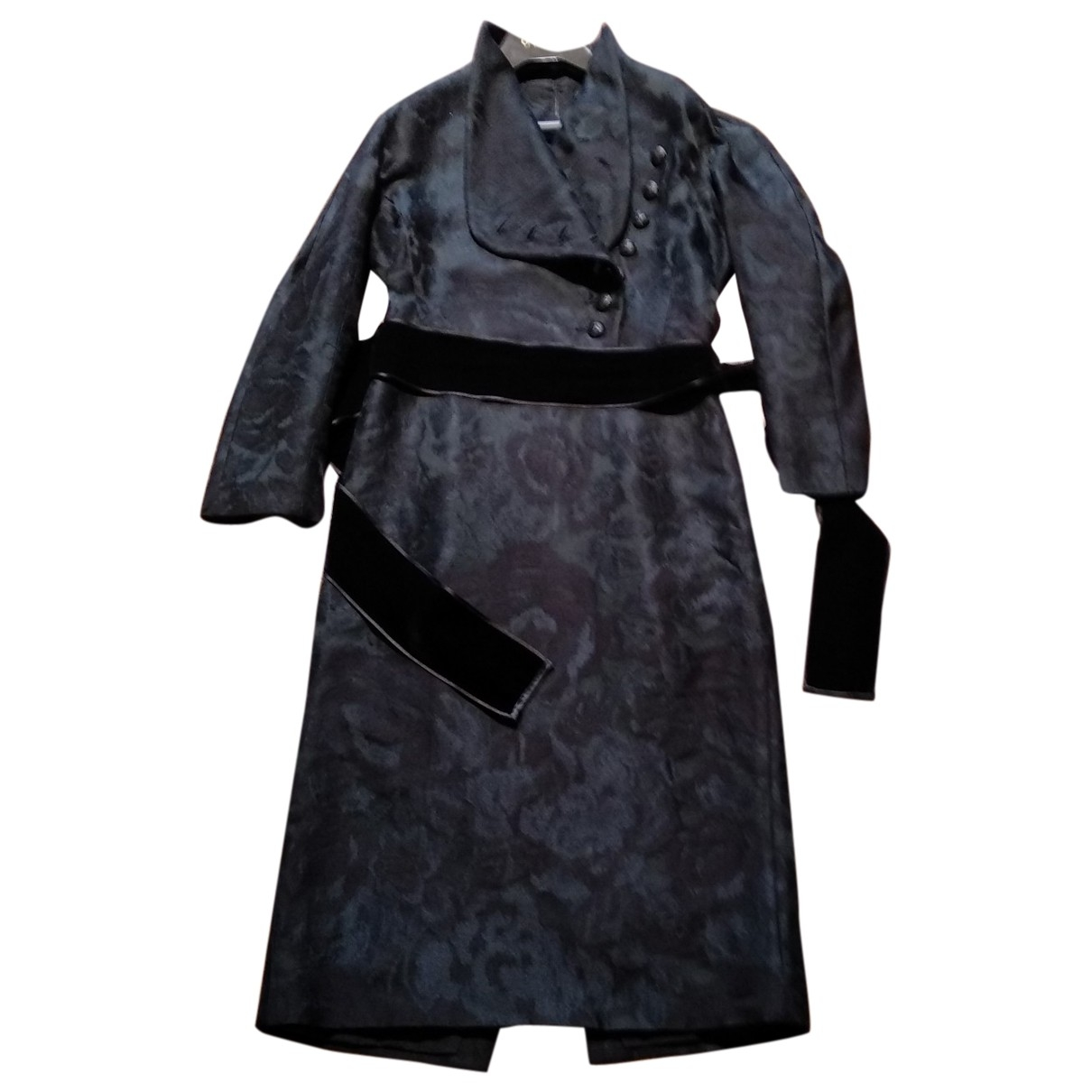 Gucci \N Kleid in  Schwarz Wolle