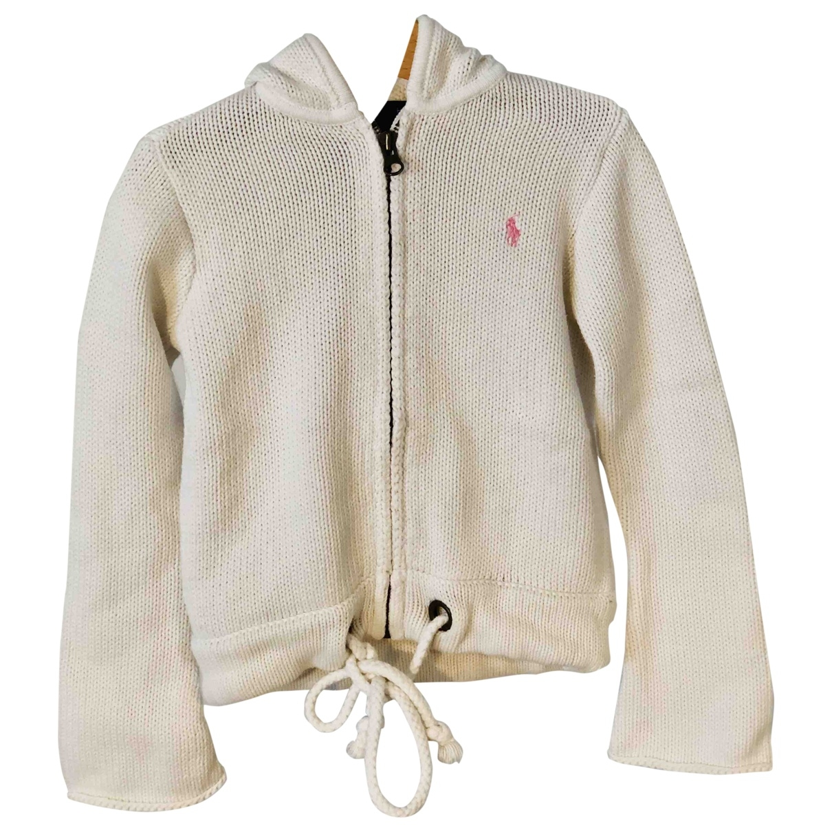 Ralph Lauren \N White Cotton Knitwear for Kids 5 years - up to 108cm FR