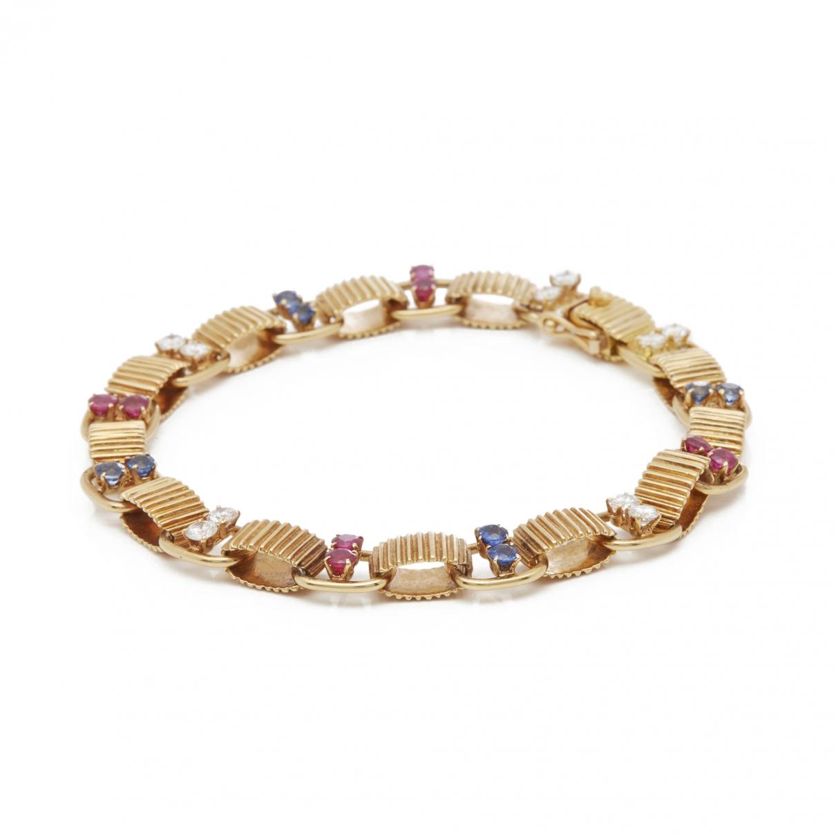 Boucheron - Bracelet   pour femme en or jaune - jaune