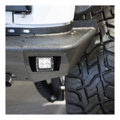 Aries Offroad TrailChaser Rear Bumper Corners with LED Lights (Black) - 2081222