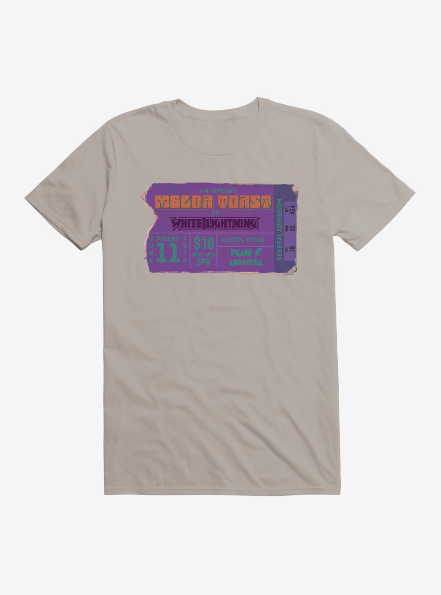 Dazed And Confused White Lightning Ticket T-Shirt
