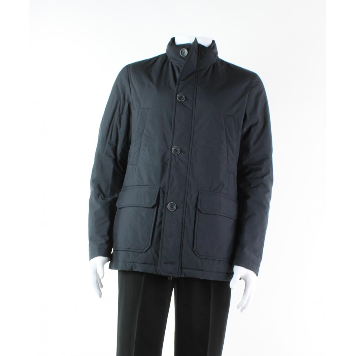 Herno \N Pullover.Westen.Sweatshirts  in  Marine Polyester